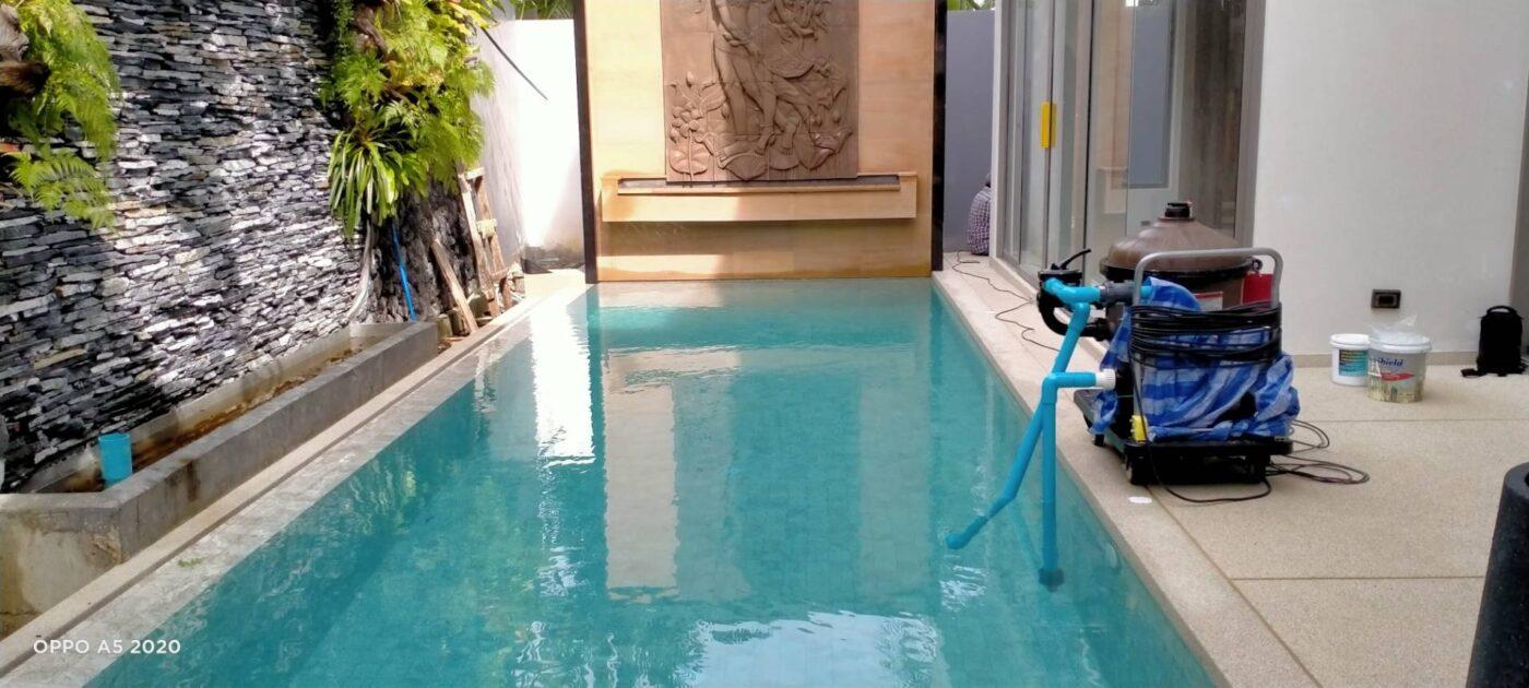ติดตั้งโมบาย zenithy pool villa